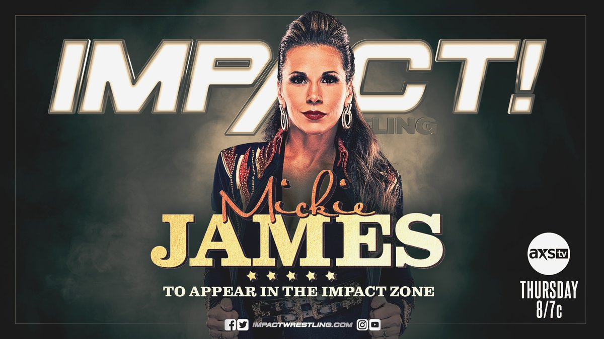 Jay White And Mickie James Announced For This Week's Impact