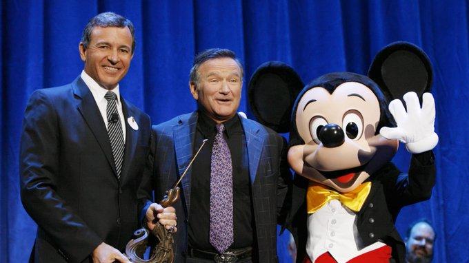 Happy birthday to the late Disney Legend Robin Williams!