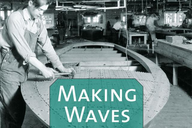 Join @UMichLibrary and @UofMPress in celebrating the history of boat building on the Great Lakes at the virtual Meet the Author event: Making Waves. https://t.co/0xESAAZP6r https://t.co/dLMthS9XbS