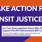 Image for the Tweet beginning: The Regional Transit Authority (RTA)