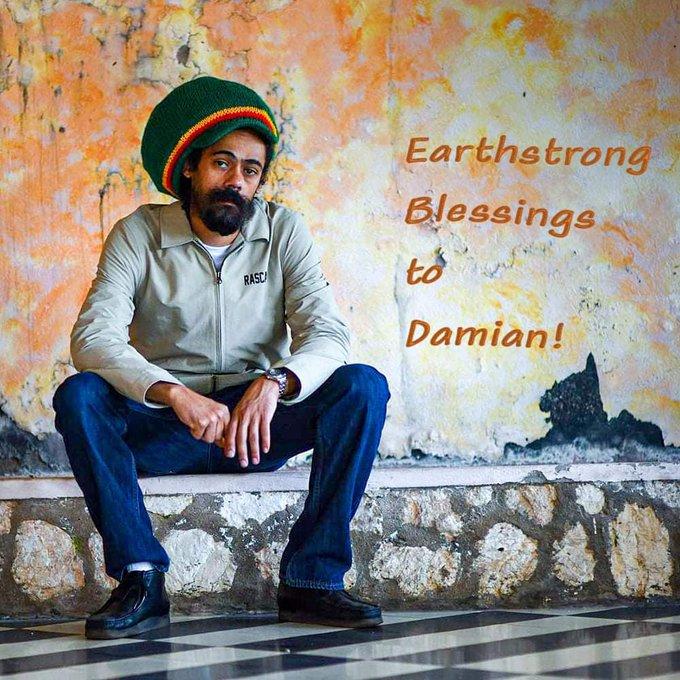 EarthStrong Damian Marley Happy birthday