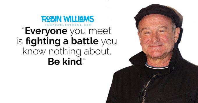 Happy birthday Robin Williams...