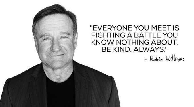 Happy birthday to the much missed Mr. Robin Williams.
