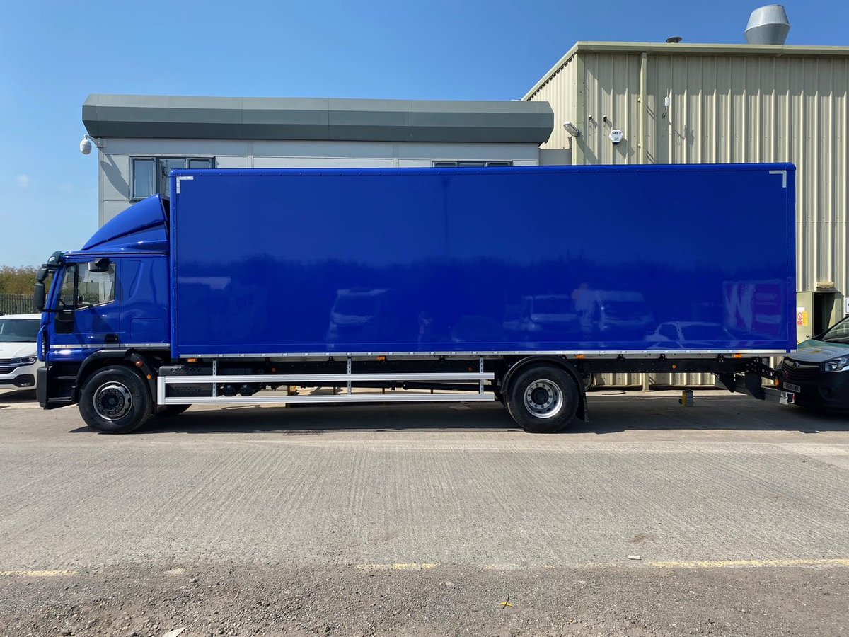 test Twitter Media - Another build for @NETVLtd this time for GTA Transport. The body is a 9.5m long x 2.75m high GRP box with full cab and body paint in customer's colour. #NETV #GTATransport #MartinWilliamsHull https://t.co/0vAAmrp3ep