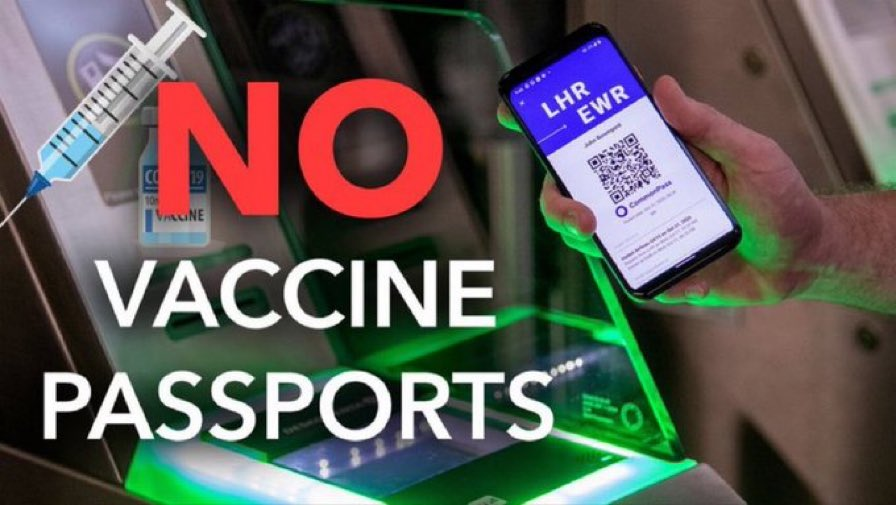 Vaccine passports for domestic use are one of the most illiberal and authoritarian proposals ever produced by a government. It ends medical privacy and risks a two-tier society based on coercion and discrimination. It must be stopped. Retweet if you agree. #NoVaccinePassports https://t.co/EZcOMxi05K