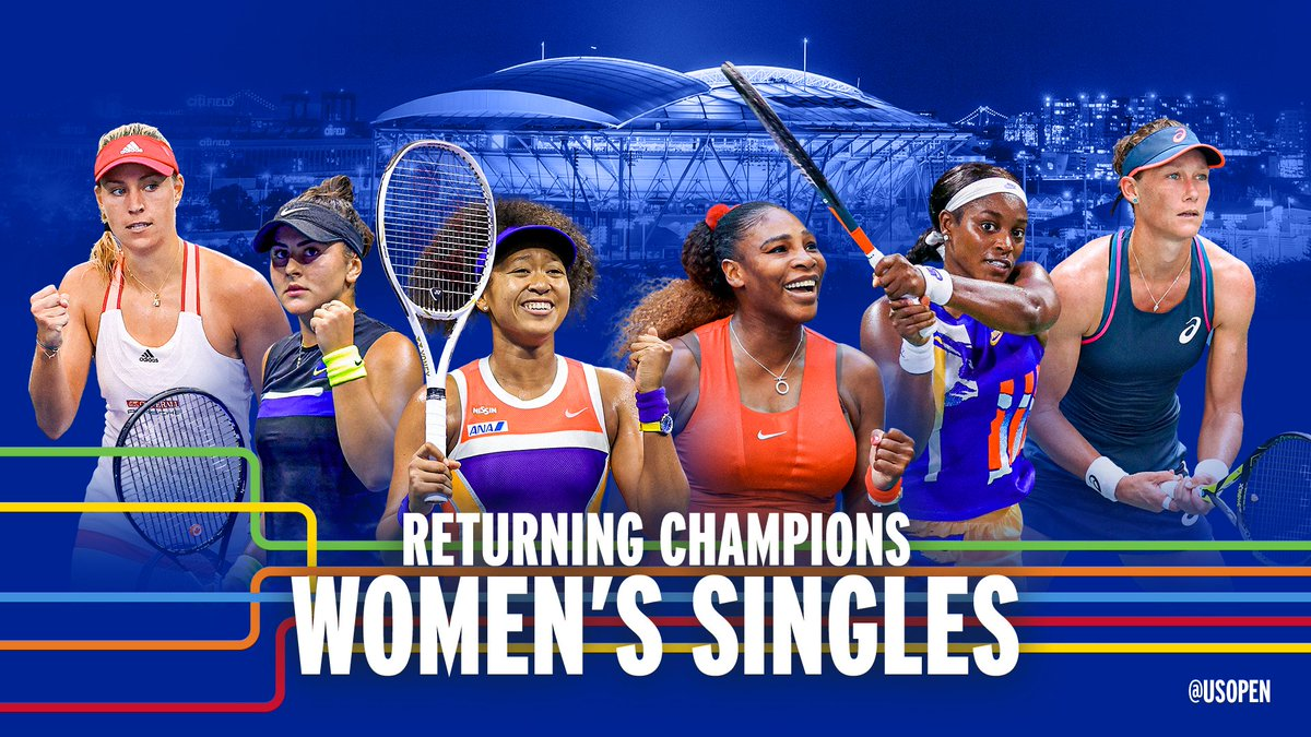 Us Open Tennis On Twitter The S Return To Their Kingdom Six Former Us Open Champions Have Received Direct Entry Into The 2021 Us Open Women S Singles Draw Https T Co Txp3g6kna8