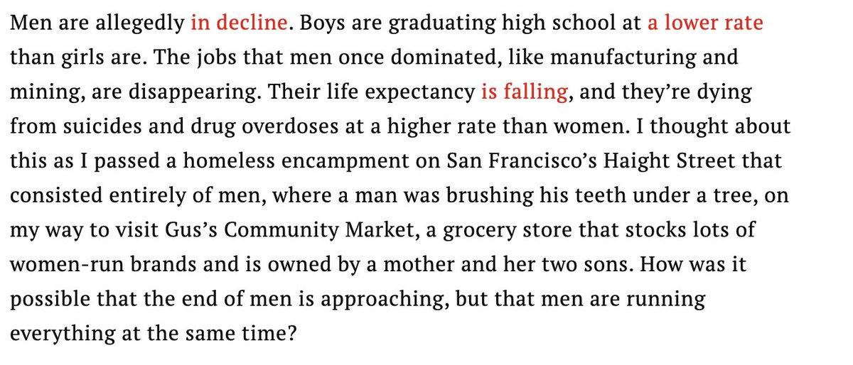 Anyway, whatever happened to The End of Men? https://t.co/IenUkxtJC1