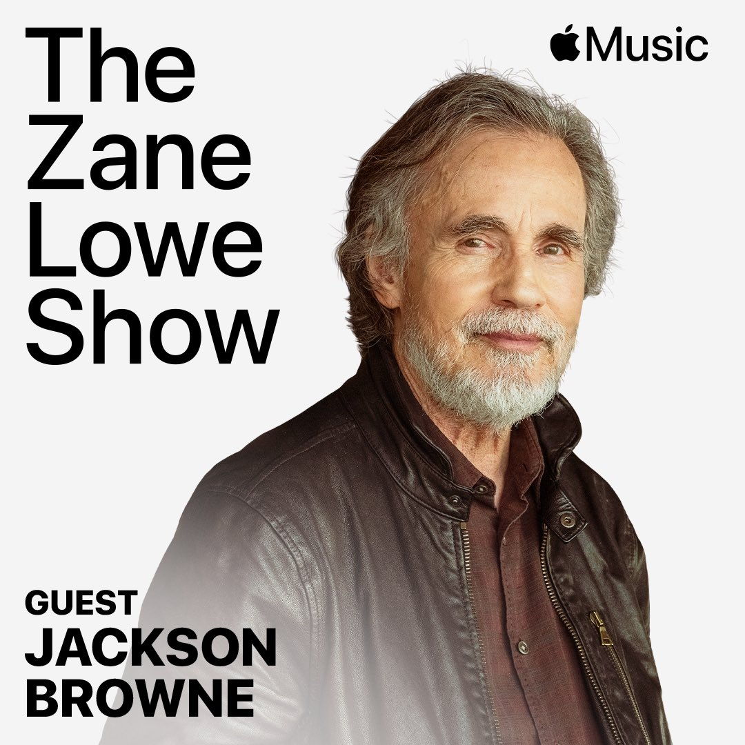 """we also caught up with @JacksonBrowne to talk about """"Downhill From Everywhere"""" and more in one hour on @applemusic https://t.co/Urz4A9EZcD https://t.co/W2eAvx6NBj"""