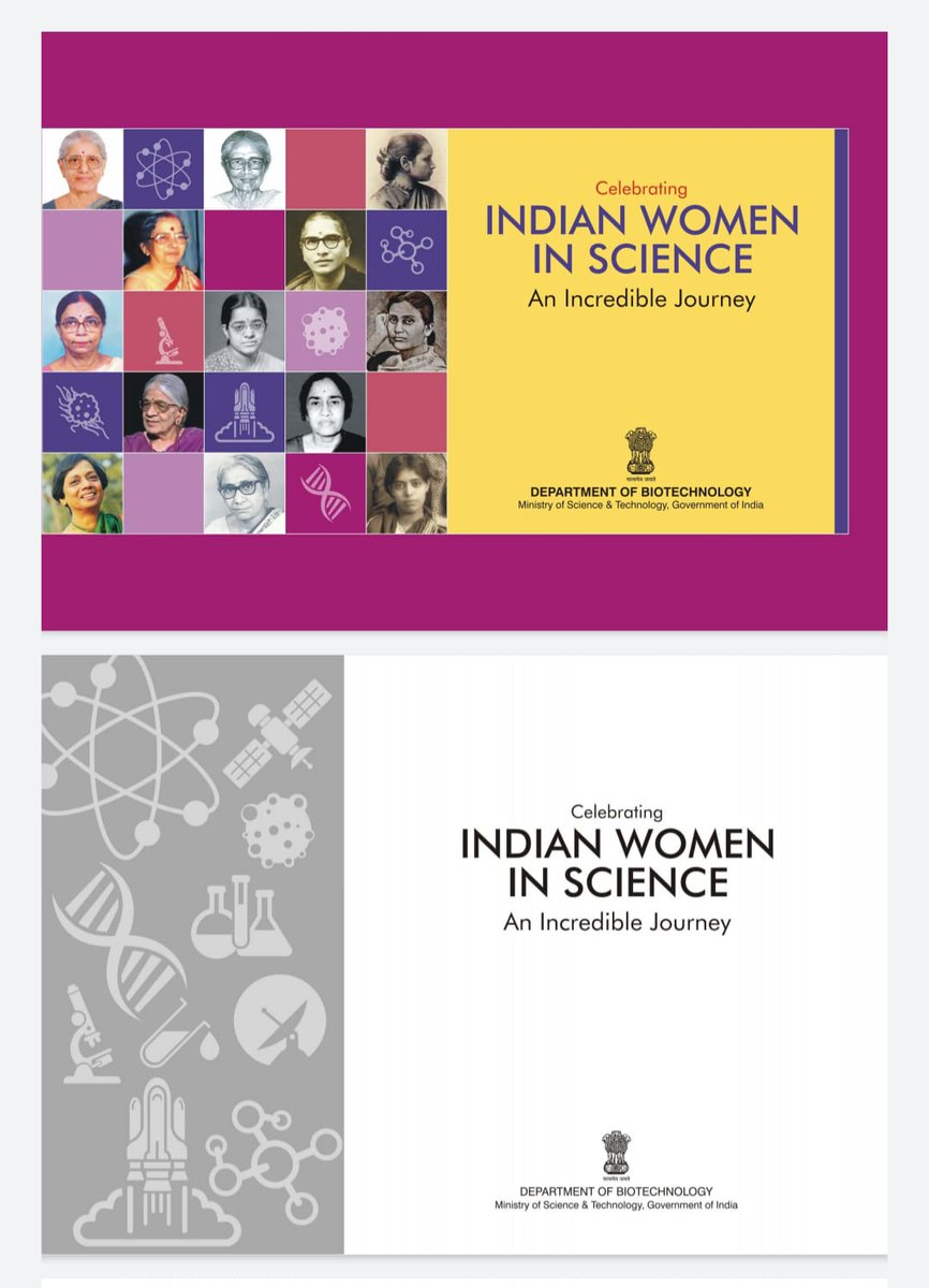 2/2:& excluded Dr Rakhmabai Save-Raut who was the first female physician to practice Medicine in India.The Book fails to mention Savitribai Phule. Is it a mere coincidence that majority of women listed in this book belong to one particular caste?#castist_modi_govt  #anti_obc_rss https://t.co/TCmMq418vf