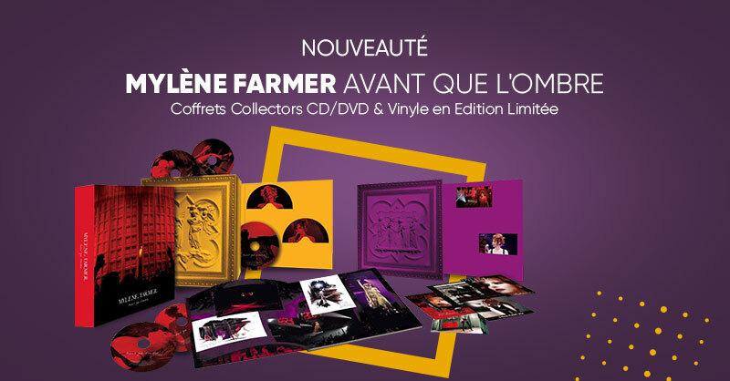 MUSIQUE 🎧 | Retrouvez en précommande l'album 'Avant que l'ombre' de Mylène Farmer en coffrets collectors CD/DVD & vinyle en éditions limitée ! C'est bien sûr à la Fnac. 😁👉  https://t.co/JmPfOLMzVt  Et rendez-vous le 10 septembre prochain pour sa sortie ! 👌 https://t.co/nwM2KBoLVn