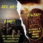 Image for the Tweet beginning: Pregunta: camp o ciutat?  Ens trobareu