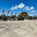 Image for the Tweet beginning: 6 Valtra's heading out to