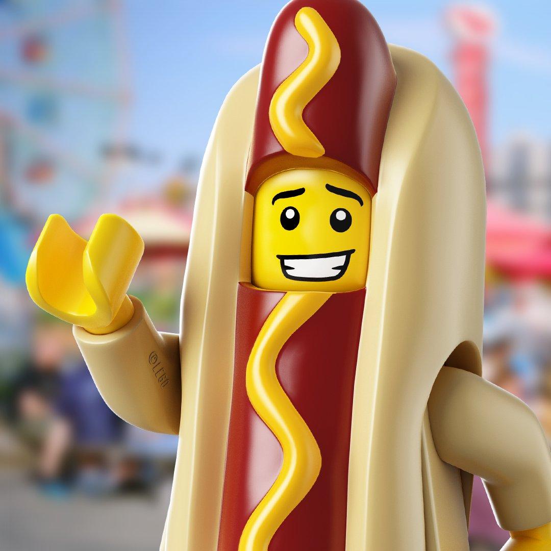 @LEGO_Group's photo on #NationalHotDogDay