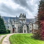 Image for the Tweet beginning: Ardverikie Castle ❤️. Beady-eyed fans