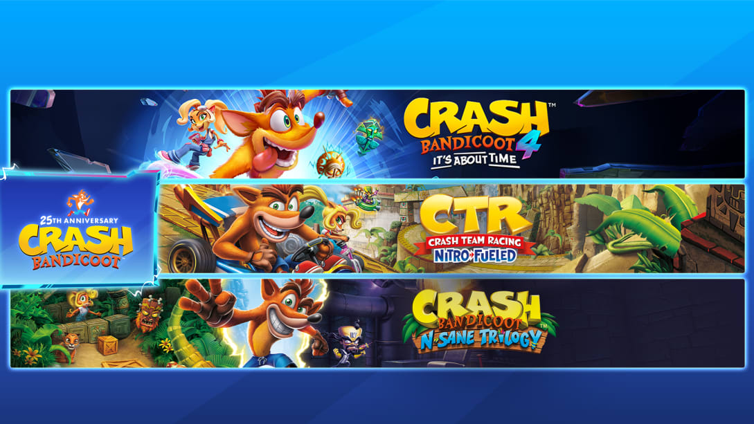 The Crash Bandicoot CRASHiversary bundle