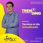 Image for the Tweet beginning: ¡¡El show + #Trending de