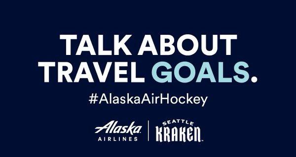 Let's go! #AlaskaAirHockey