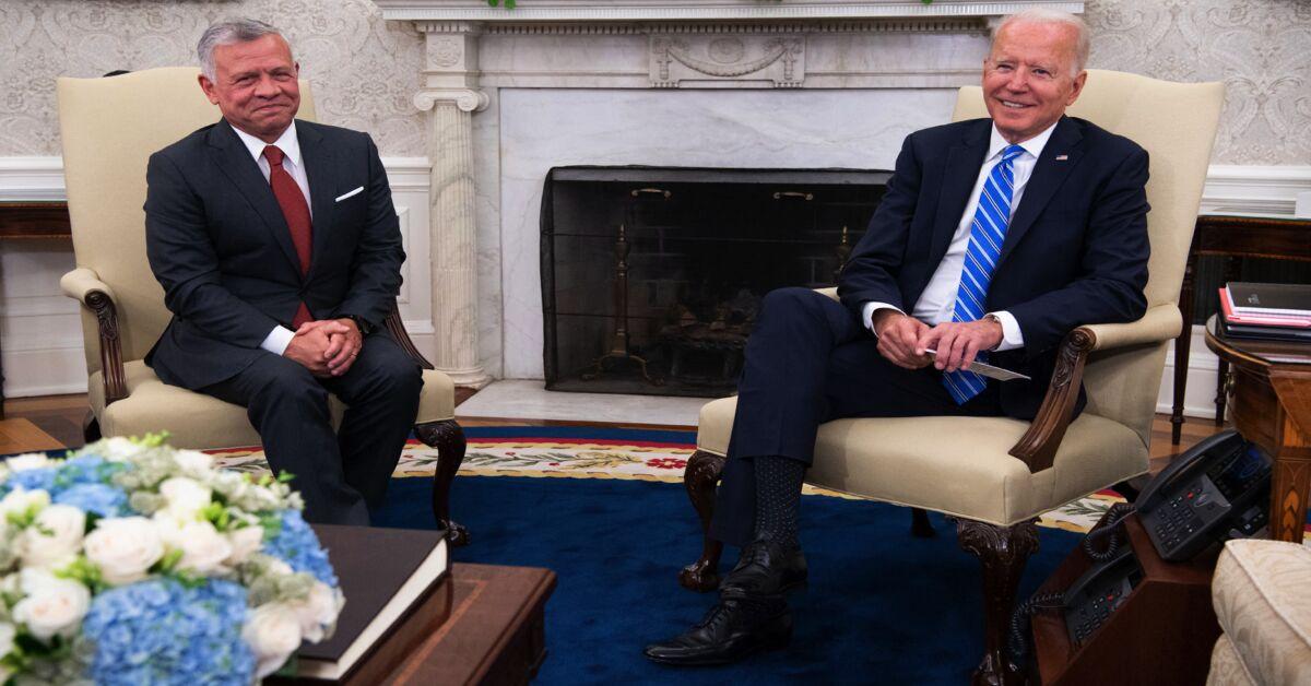 The Takeaway: Biden-Abdullah White House summit key to Israel-Jordan reset Photo