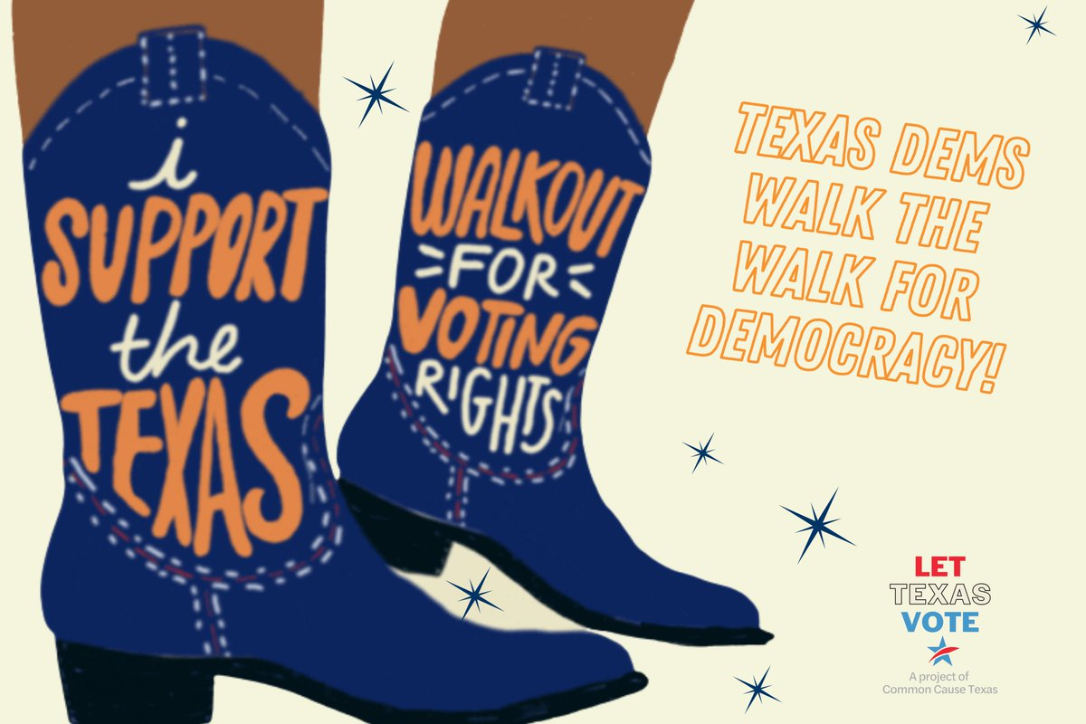 Howdy 🤠🤠🤠  We're sending postcards to the brave TX Reps who are making sure that we #LetTexasVote - but they need to hear directly from y'all!  Write a brief thank you message to our bold reps, and we'll print it onto cute postcards and sent to DC!   https://t.co/Y8mzR6Qcmw https://t.co/9RvrENO99y