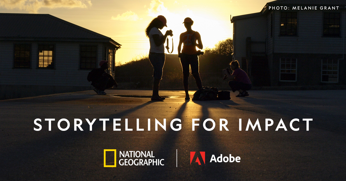 Find your storytelling voice in a series of free #GenGeo #StorytellingForImpact courses in partnership with @AdobeGenCreate. Learn to craft your story and create powerful change.  https://t.co/gMjUmediqP https://t.co/b1bqmlvtkj
