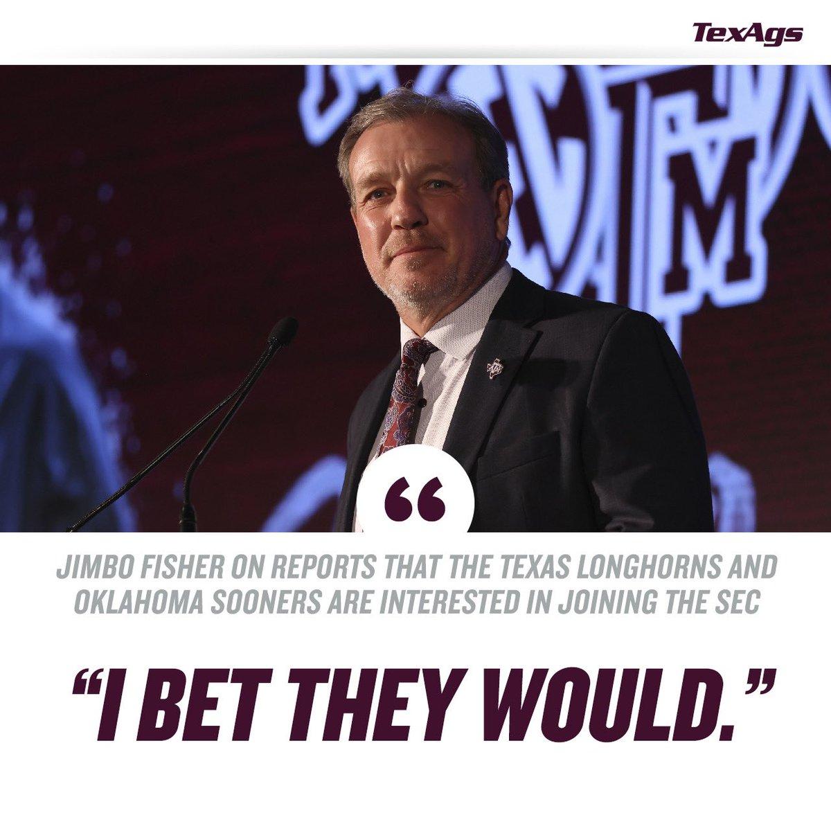 @TexAgs's photo on Jimbo Fisher