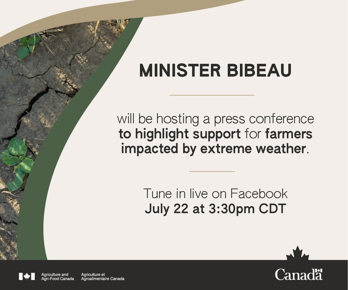 Log on to this update from our Federal Ag Minister today.