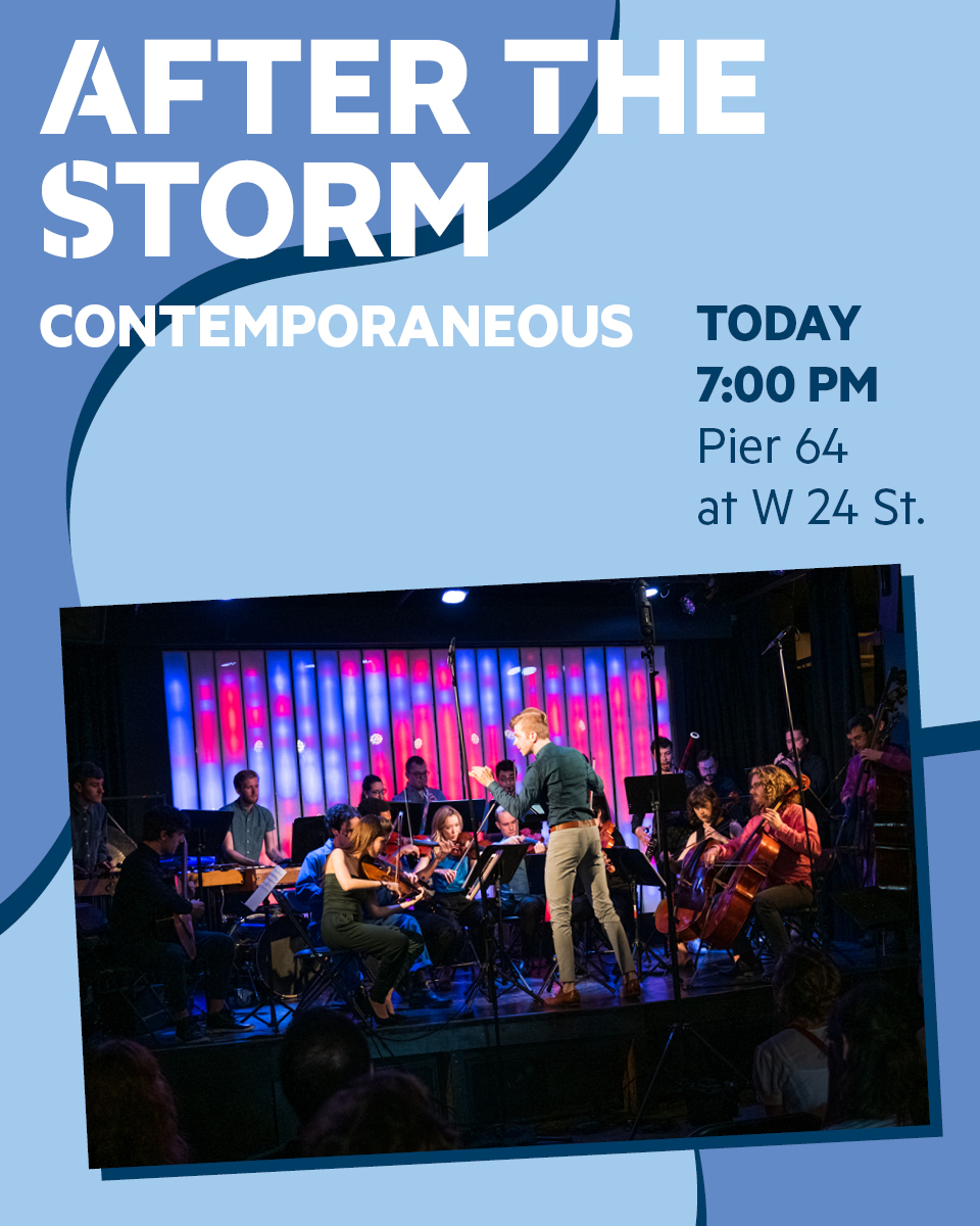 """Tonight at 7:00 PM, come celebrate music, imagination and community with @econtemp's highly-anticipated """"After The Storm"""" concert featuring  @guitar_yaz as well as @AWeiserComposer's """"and all the days were purple"""" poem series. For more details, follow @econtemp. https://t.co/GvH2cr59Ls"""