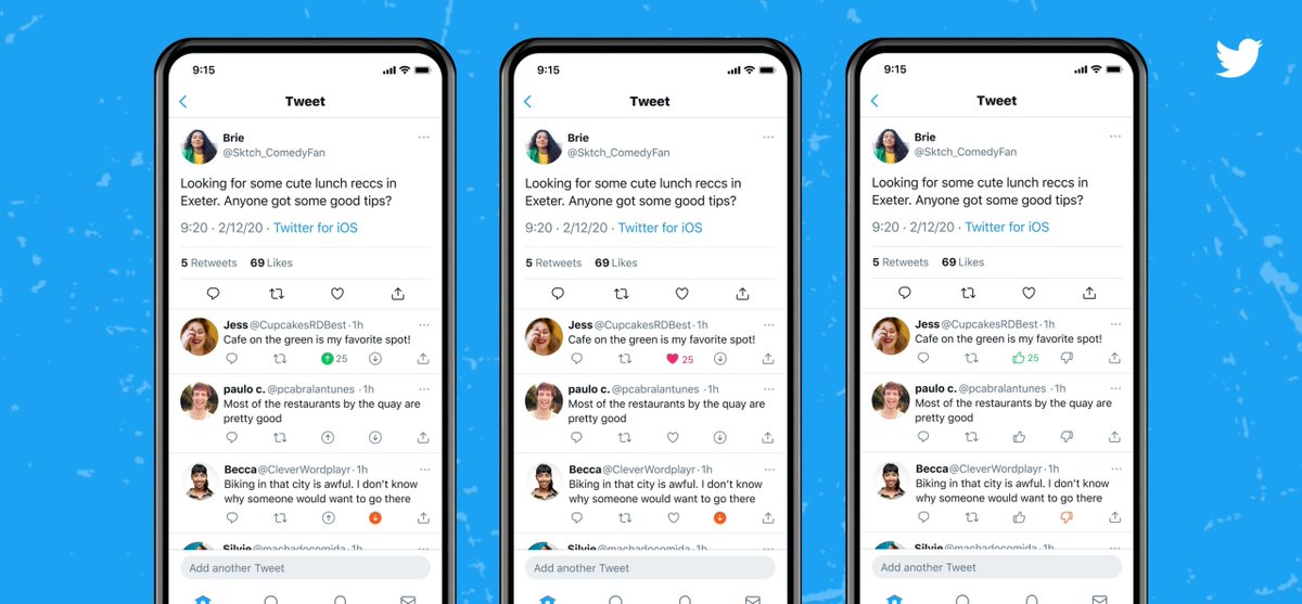 Twitter is trying out upvotes and downvotes in its latest beta test