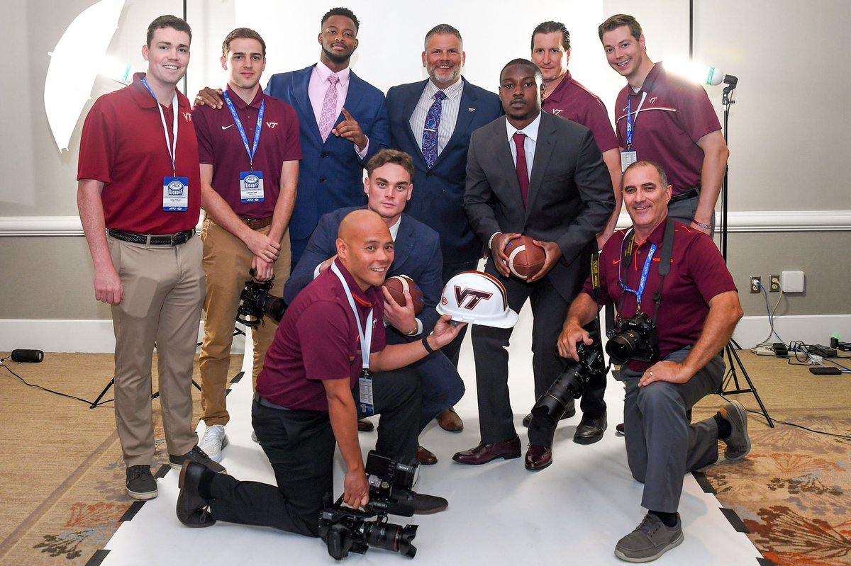 What a Crew!   Great job by the entire team today in Charlotte.  Not pictured @CartsQuotes + @LazeVT + @MikeBurnopVT   #ACCKickoff https://t.co/DcpH8rjtjf