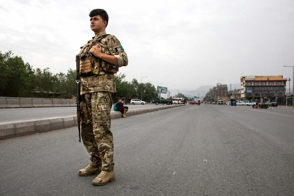 US military official says a 'complete Taliban takeover' is possible in Afghanistan Photo