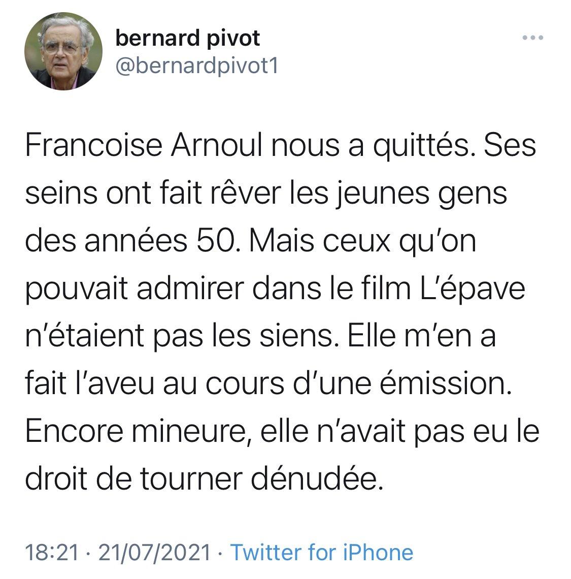 Bernard Pivot Photo