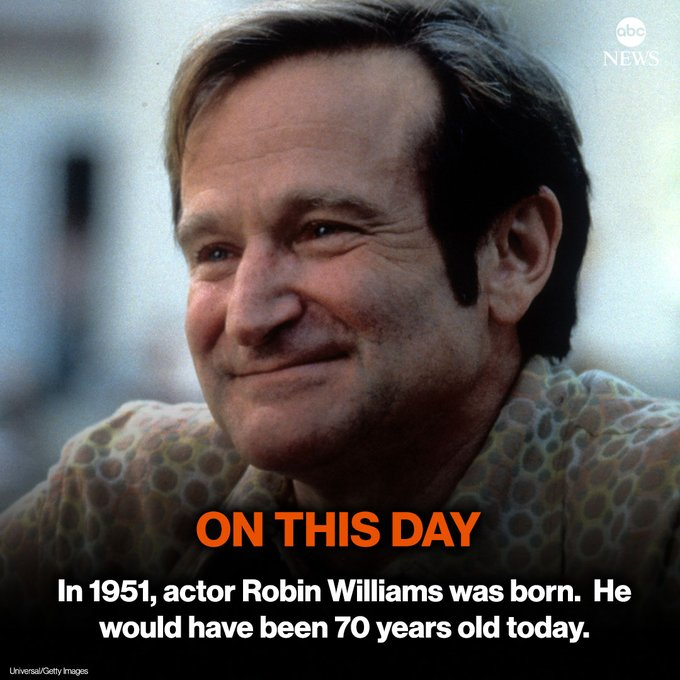 Happy Birthday Robin Williams We Miss You Always   . You are the GOAT