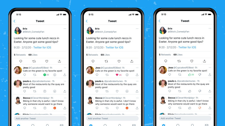 Twitter is testing downvote and upvote buttons for tweet replies on iOS