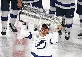 The realities of a salary cap world mean the forced break up of a championship team are well underway as #GoBolts say goodbye to fan favorite Yanni Gourde who was selected by the expansion #SeaKraken on Wednesday. It's just the beginning. #TBLightning https://t.co/TztEfHjBHF https://t.co/tx6mR8ds3H