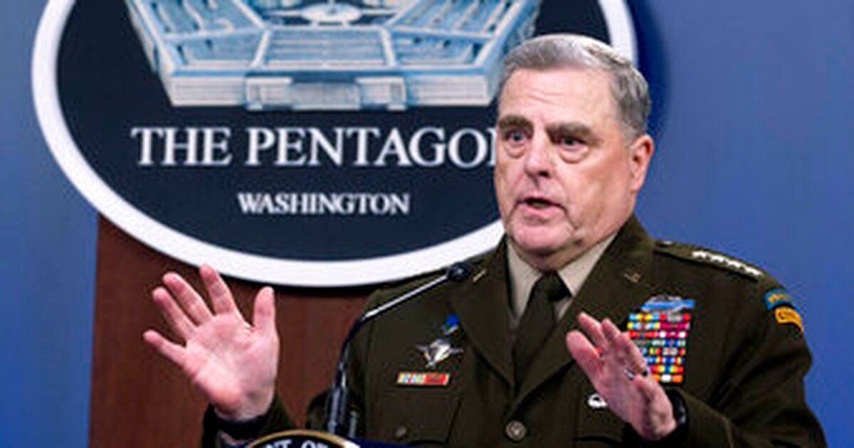 Gen Milley says Taliban appear to have 'strategic momentum' Photo