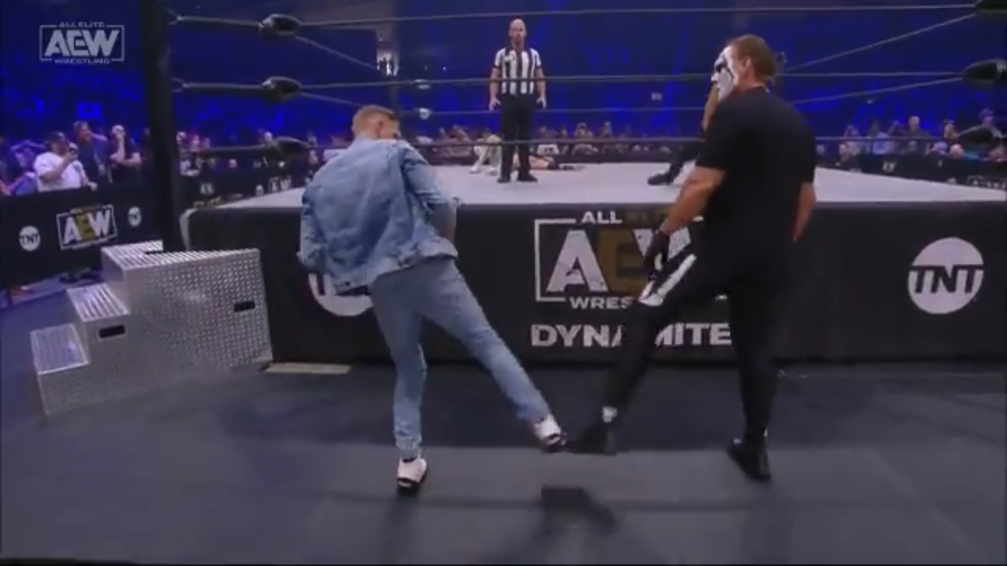 Sting And Orange Cassidy Face-Off On AEW Dynamite: Fyter Fest