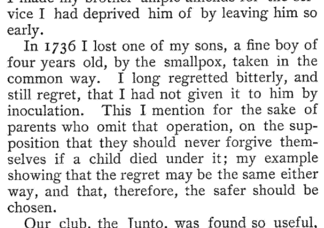 From the autobiography of Ben Franklin. https://t.co/x5Iz3qJPuR