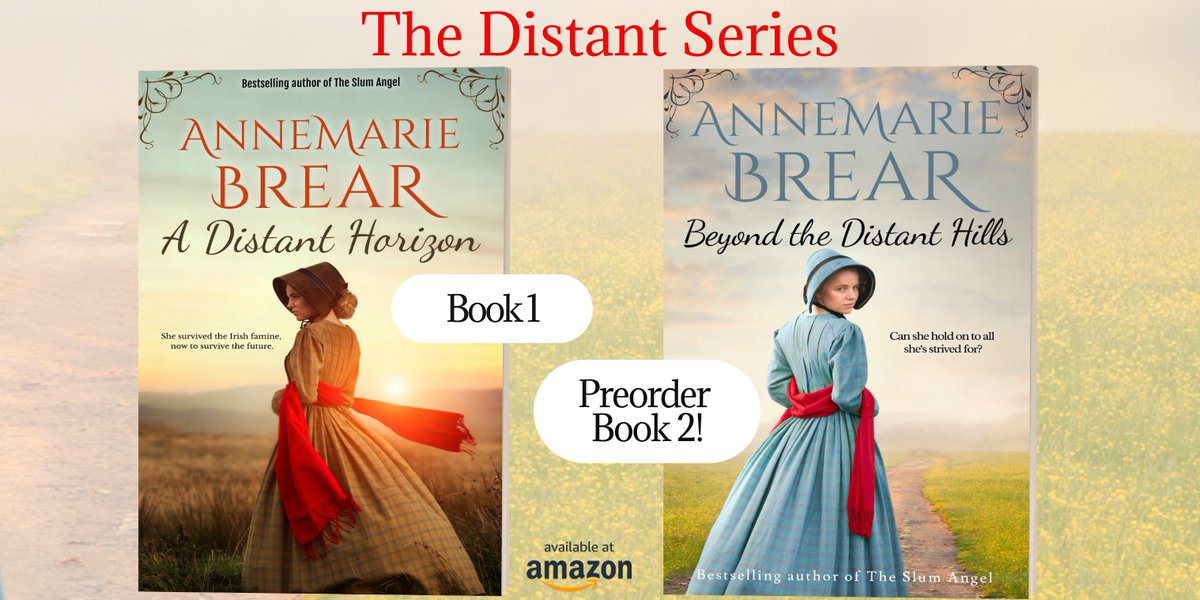 A Distant Horizon – New release! Ellen survived the Irish Famine. Can she survive the future in a strange land? Or has she made the greatest mistake of her life? Beyond the Distant Hills preorder Book 2 #historicalsaga #historical #Victorian #Ireland https://t.co/YqoQdKspiw https://t.co/aYul8ZlJ3H