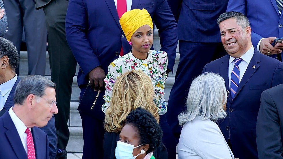 Omar reflects on personal experiences with hate in making case for new envoy | TheHill Photo