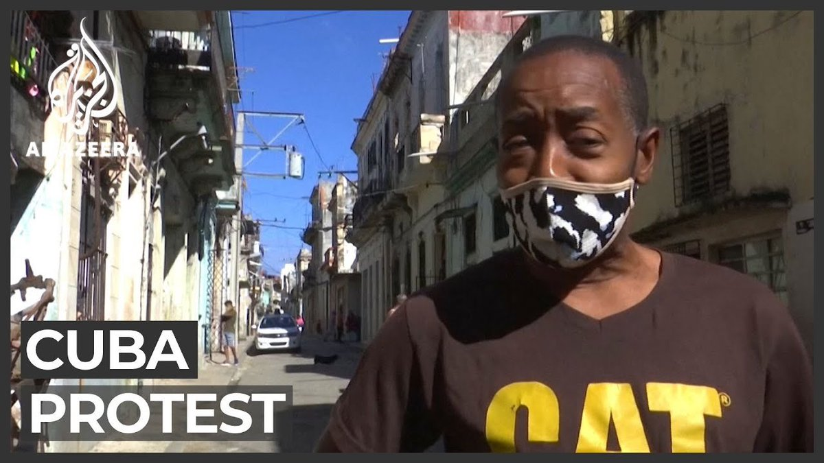 The Cuban people want FREEDOM! The Biden Administration is doing nothing to help them. The Cuban people are begging for help. Forget vaccines, they want FREEDOM. #FreedomForCuba https://t.co/4nSpGVgqtc
