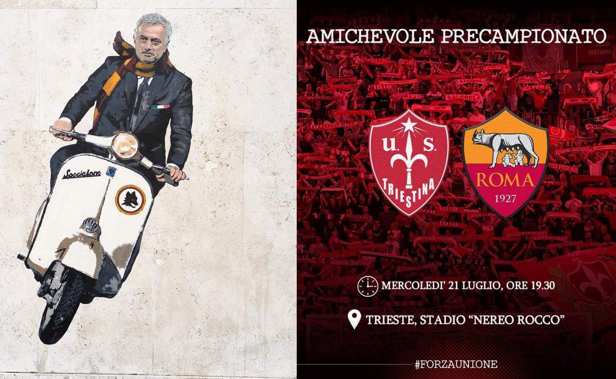 Triestina vs AS Roma Full Match & Highlights 21 July 2021