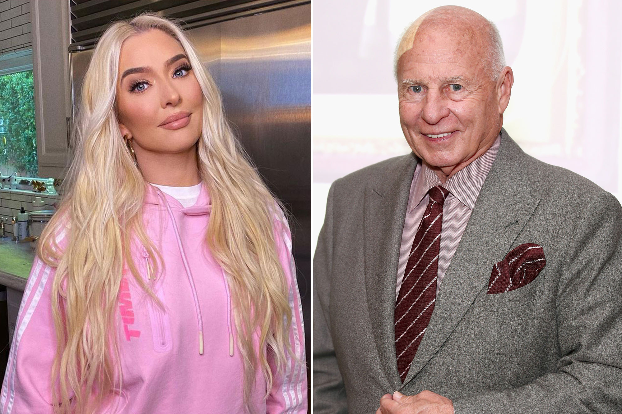 Erika Jayne: Tom Girardi was unconscious for 12 hours after 2017 car wreck Photo