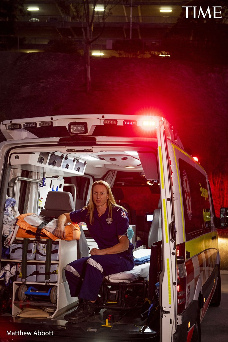 Jo Brigden-Jones, kayak  Being a world-class kayaker and a paramedic can be hectic. But the Australian, who helped transport one of the first confirmed COVID-19 patients from their home to a hospital, says her career takes some of the pressure off when she's at the starting line https://t.co/sSvFsvI8HA