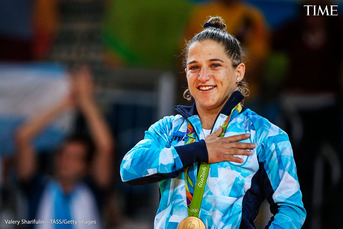 Paula Pareto, judo  The decorated Argentine judoka is also a physician who works as a trauma specialist. She spent 2020 and much of 2021 on the front lines, caring for patients and assisting medical staff working to contain the pandemic https://t.co/6PcQyQdEfs