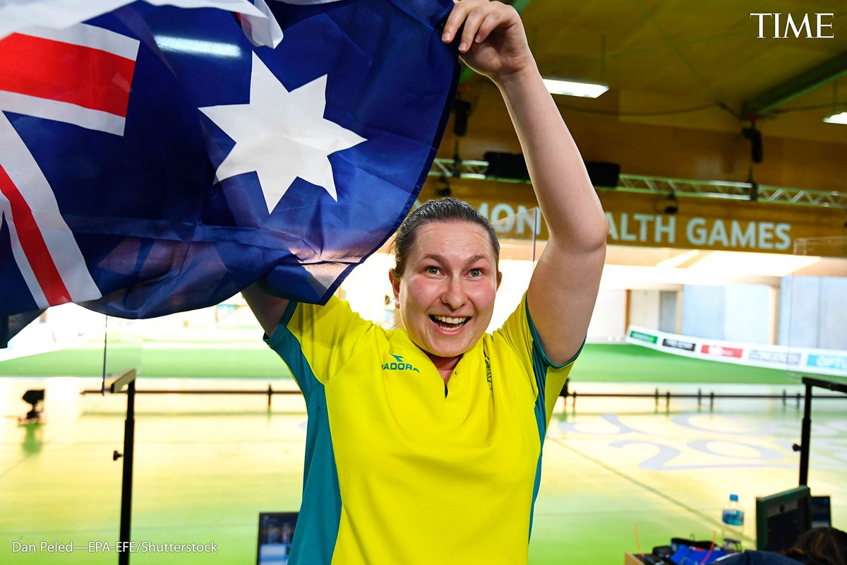 Elena Galiabovitch, shooting  This spring, when other athletes were preparing to fly to Tokyo, Australian shooter Elena Galiabovitch—who is training to become a urological surgeon—was standing in a drive-through clinic, waiting to swab expectant noses for COVID-19 https://t.co/hWWfLkoSTm