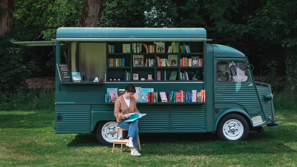 Introducing Ruby, The Little Travelling Bookshop 🎉 Ruby is a 1964 Citroen H van converted into a small bookshop and unique events space and she'll be travelling to communities across Scotland (and beyond) all year round!  For more info go to: https://t.co/Ew2Q5c3Ubw https://t.co/xcwy8y9oAG