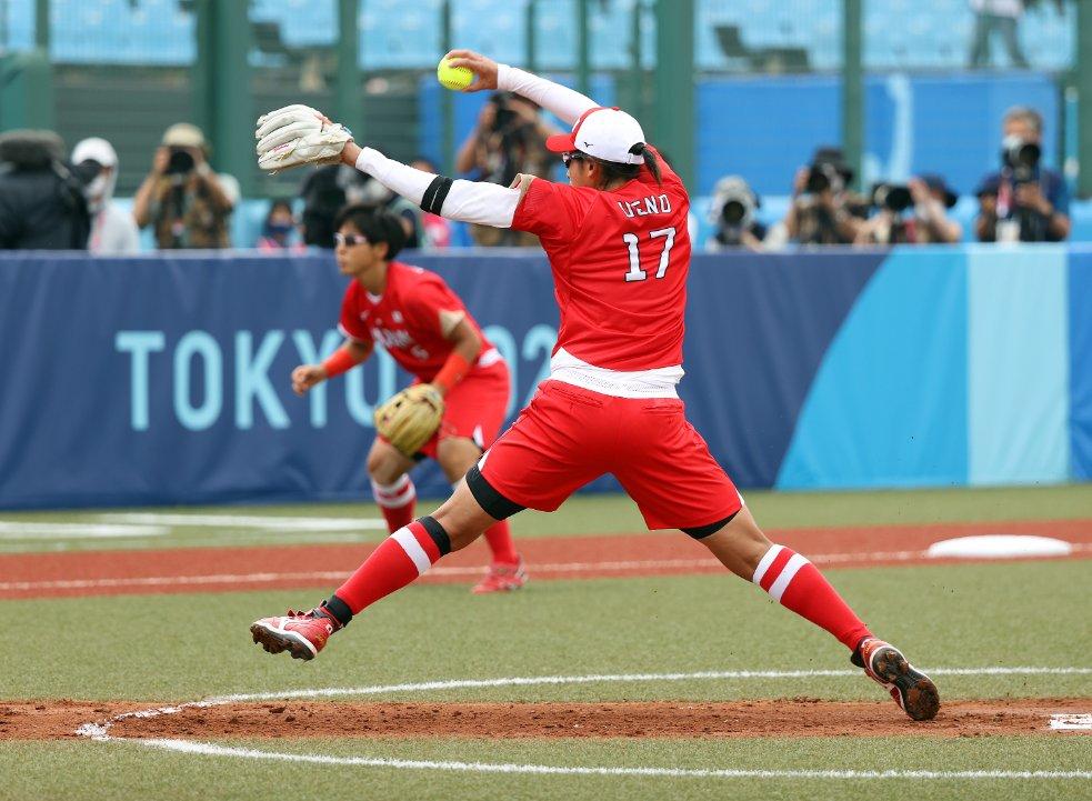 #ソフトボール 試合終了   メキシコ  2-3 日本  日本代表は2連勝   @JSAteamJAPAN #Tokyo2020