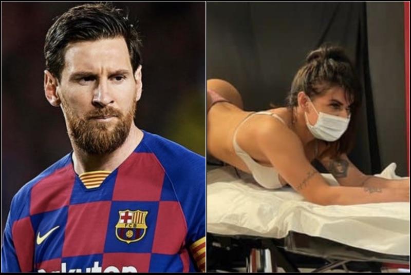 Watch 2-Time Miss Bum Bum Winner Suzy Cortez Get An Anus Tattoo Honoring Lionel Messi After Argentina Wins Copa America Championship (Video-Pics-IG) https://t.co/yHAVzYNeiH via @BasketballguruD https://t.co/G0lqIT9hqj