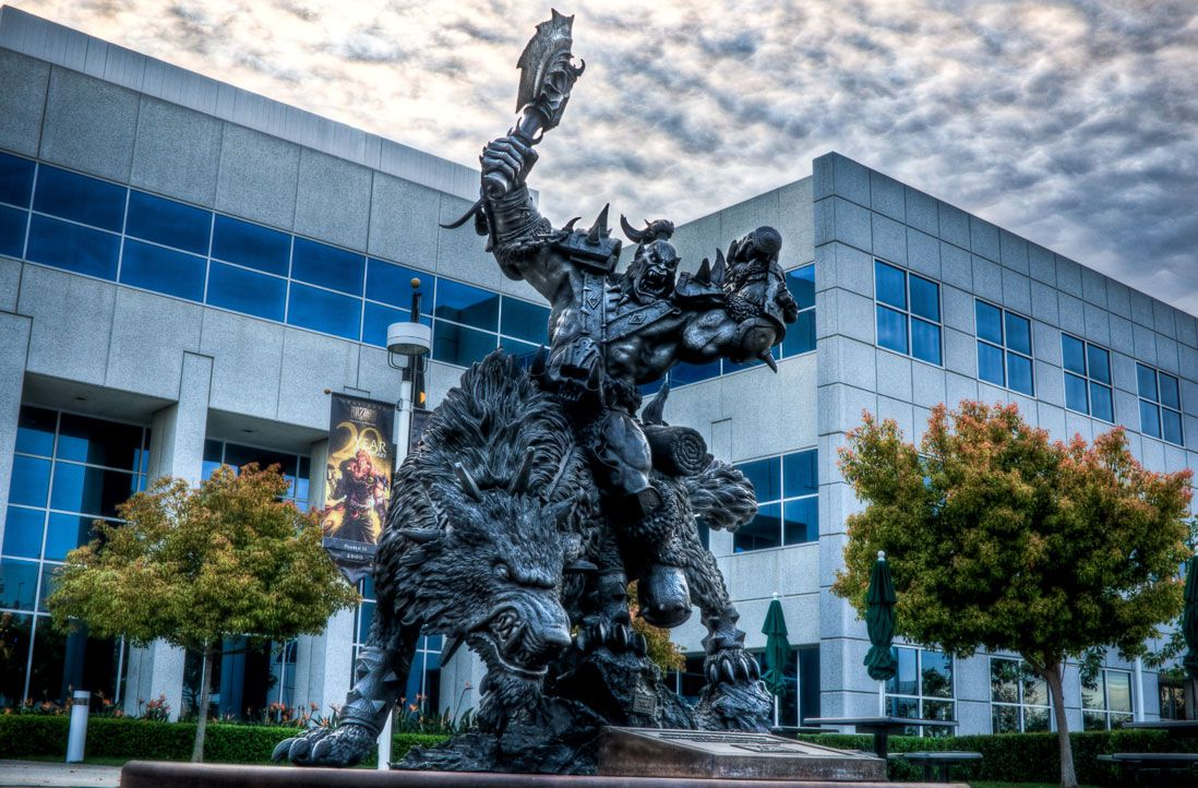 California sues Activision Blizzard over a culture of 'constant sexual harassment'
