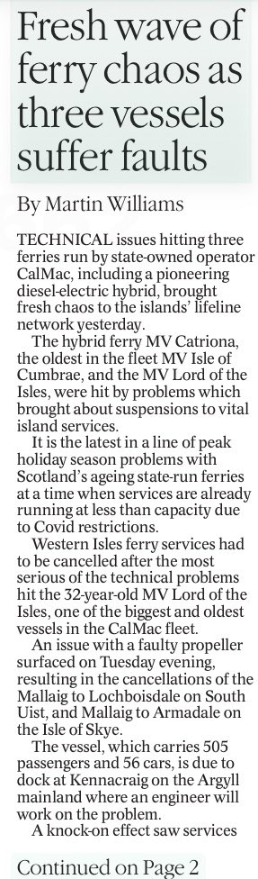 RT @Janela_X: In The Herald today. Islanders - you got what you voted for. https://t.co/7pk1QWrJEP
